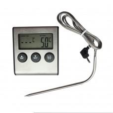 Термометр с термосенсором и звуком