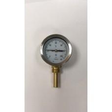 Термометр радиальный (латунь)