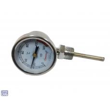 Термометр биметаллический (радиальный) нержавеющая сталь
